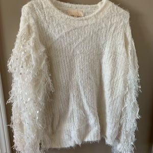 NWOT Statement sleeves sweater!